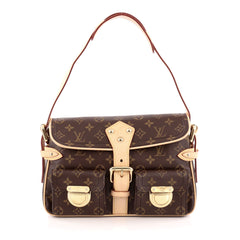 Louis Vuitton Hudson Handbag Monogram Canvas PM