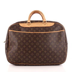 Louis Vuitton Alize Bag Monogram Canvas 24 Heures