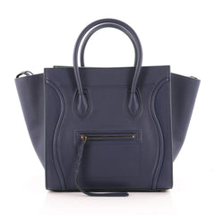 Celine Phantom Handbag Grainy Leather Large