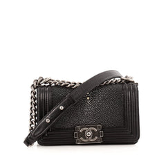 Chanel Boy Flap Bag Stingray Small