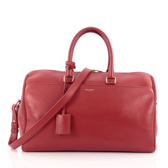 Saint Laurent Classic Duffle Bag Leather 12