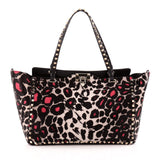 Valentino Rockstud Tote Calf Hair Medium