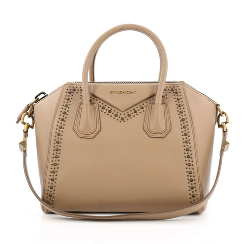 e160bd824e7e Buy Givenchy Antigona Bag Studded Leather Small Pink 1369304 – Rebag