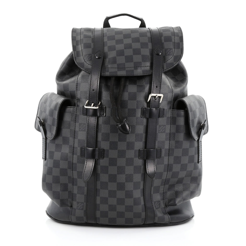 e2ad5eef5751 Buy Louis Vuitton Christopher Backpack Damier Graphite PM 1375501 ...