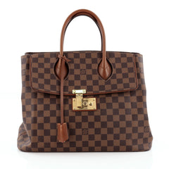Louis Vuitton Ascot Handbag Damier