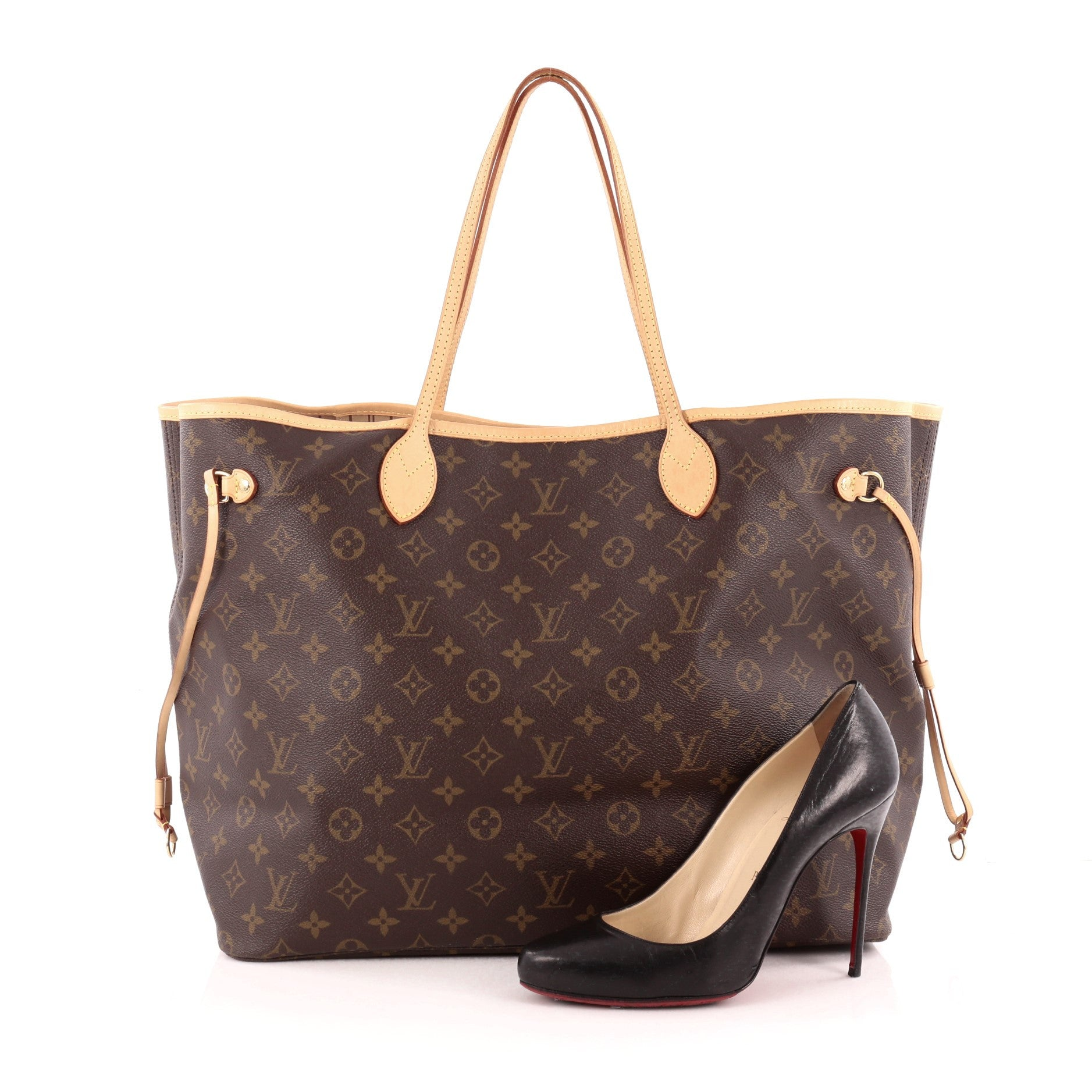 487328762647 Buy Louis Vuitton Neverfull Tote Monogram Canvas GM Brown 1381403 ...