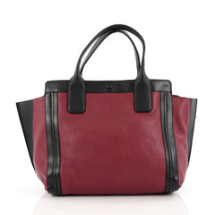 Chloe Alison East West Tote Leather Small Red