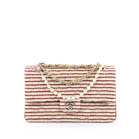 bf80c1f2547c Buy Chanel Coco Sailor Flap Bag Quilted Jersey Medium 1410001 – Rebag
