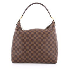 Louis Vuitton Portobello Handbag Damier PM Brown