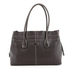 Tod's Classic D-Bag Tote Leather Small brown