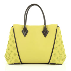 Louis Vuitton W Tote Veau Cachemire Calfskin PM Yellow