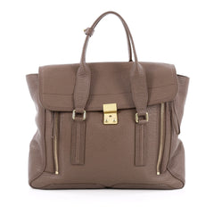 3.1 Phillip Lim Pashli Satchel Leather Large brown