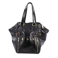 Saint Laurent Downtown Tote Patent Small black