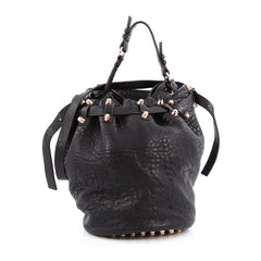 Alexander Wang Diego Bucket Bag Leather Large Black