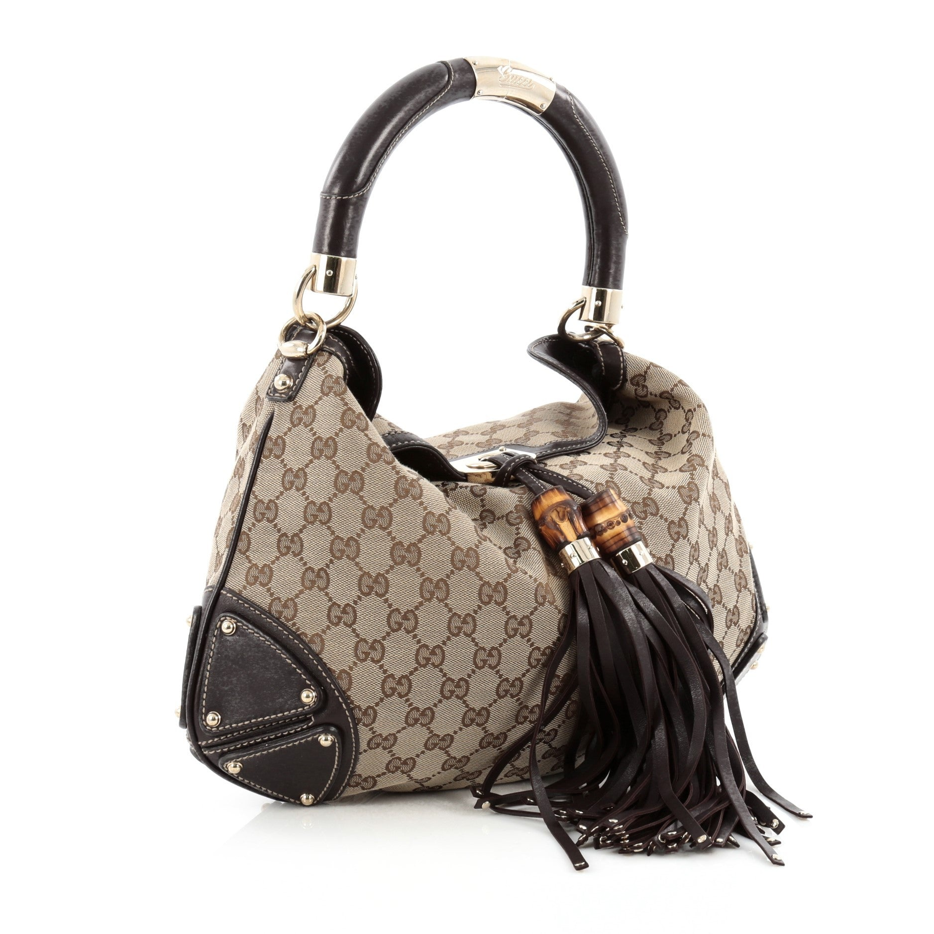 bab607b0a2c606 Gucci Hobo Crossbody. Gucci Crossbody Bag GG Canvas - LXRandCo ...