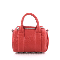 Alexander Wang Rockie Satchel Leather Mini red