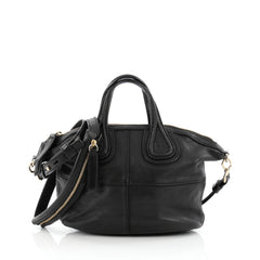 Givenchy Nightingale Crossbody Bag Leather Micro Black