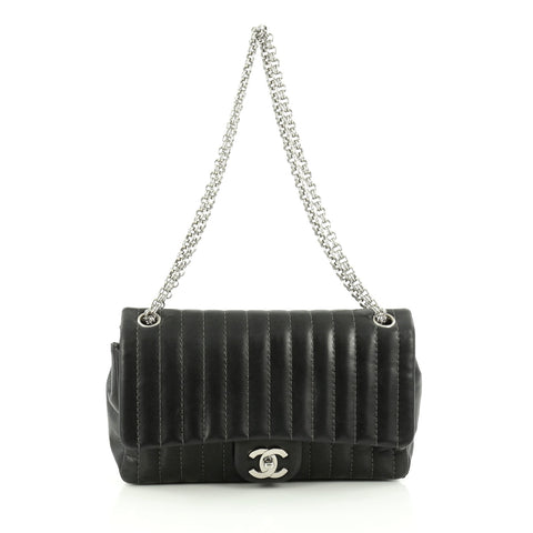 7ca1926920fd Buy Chanel Bijoux Chain Vertical Flap Bag Vertical Quilt 1496701 – Rebag