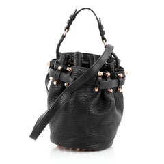 Alexander Wang Diego Bucket Bag Leather Small Black