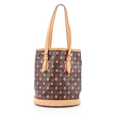 Louis Vuitton Bucket Bag Limited Edition Cerises brown