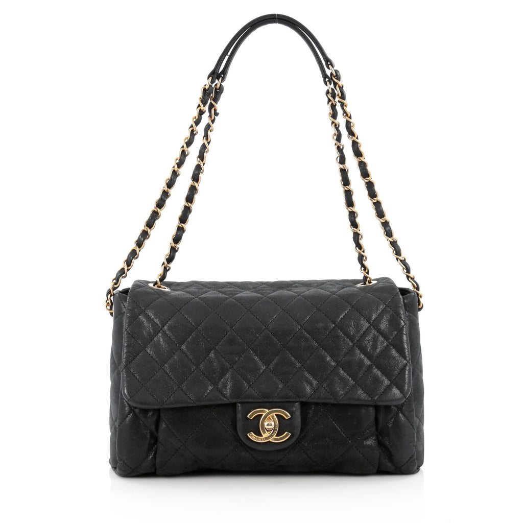 Buy Chanel Chic Quilt Flap Bag Quilted Iridescent Calfskin 1507803 ... : chanel quilt - Adamdwight.com