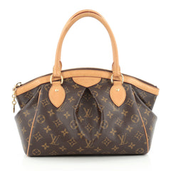 Louis Vuitton Tivoli Handbag Monogram Canvas PM