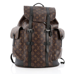 Louis Vuitton Christopher Backpack Macassar Monogram Canvas PM