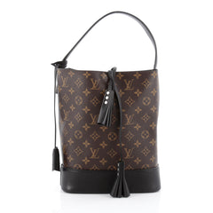 Louis Vuitton NN14 Idole Bucket Bag Monogram Canvas and Leather GM