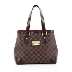 Louis Vuitton Hampstead Handbag Damier PM