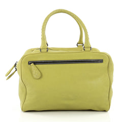 Bottega Veneta Brera Handbag Leather Medium green