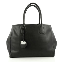 Salvatore Ferragamo Nolita Tote Leather Large black