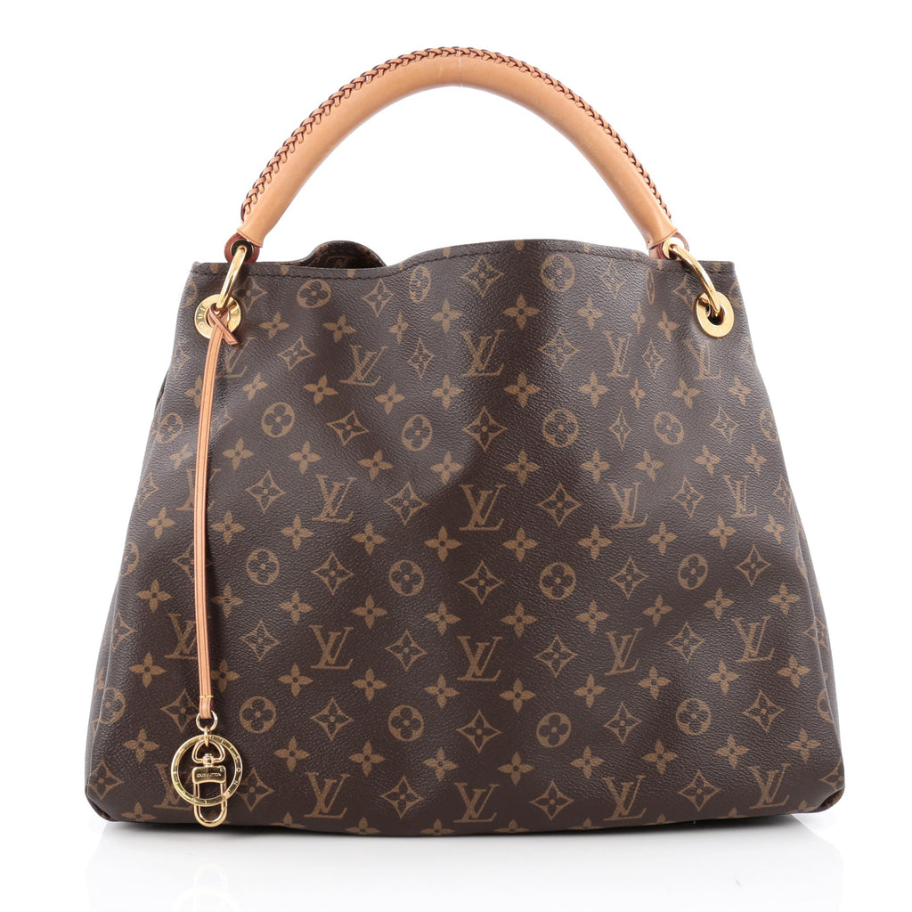 36265f01e0d8 Buy Louis Vuitton Artsy Handbag Monogram Canvas MM Brown 1569501 – Rebag