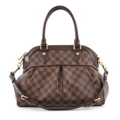 Louis Vuitton Trevi Handbag Damier PM Brown