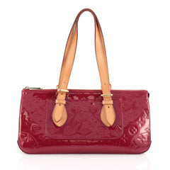 Louis Vuitton Rosewood Avenue Handbag Monogram Vernis