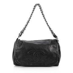Chanel Rock and Chain Shoulder Bag Lambskin Medium