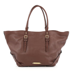 Burberry Bridle Salisbury Tote Leather Medium