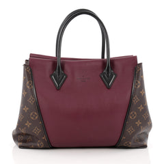 Louis Vuitton W Tote Monogram Canvas and Leather PM
