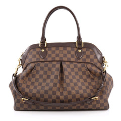 Louis Vuitton Trevi Handbag Damier GM brown