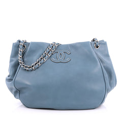 Chanel Sensual CC Tote Lambskin Large blue
