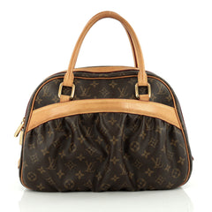 Louis Vuitton Mizi Handbag Monogram Canvas