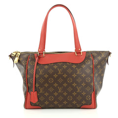 Louis Vuitton Estrela NM Handbag Monogram Canvas red