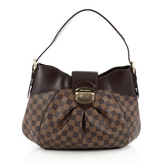 Louis Vuitton Sistina Handbag Damier MM Brown