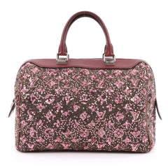 Louis Vuitton Speedy Handbag Limited Edition Sunshine Express 30 Pink