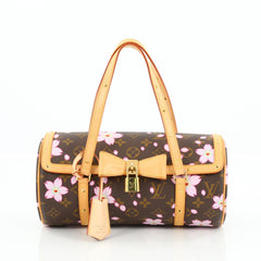 Louis Vuitton Papillon Handbag Limited Edition Cherry Blossom