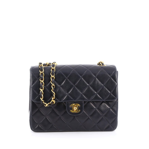 748406c2bf92 Buy Chanel Vintage Square Classic Flap Bag Quilted Lambskin 1604703 – Rebag