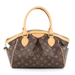 Louis Vuitton Tivoli Handbag Monogram Canvas PM Brown
