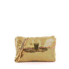 Saint Laurent Evening Bag Metal Mesh Small