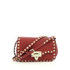 Valentino Rockstud Crossbody Bag Leather Mini
