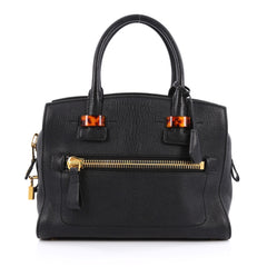 Tom Ford Charlotte Tote Leather with Enamel Detail Small