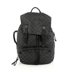 Louis Vuitton Aventure Backpack Damier Nylon Black